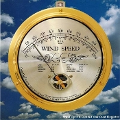Wind Meter (+ Gust Register Option) by Cape Cod Wind & Weather